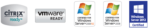 Citrix, VMware, Windows Server 2008 and 1012
